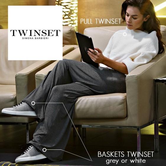 Twinset loungewear vêtement 2018 2019 hiver