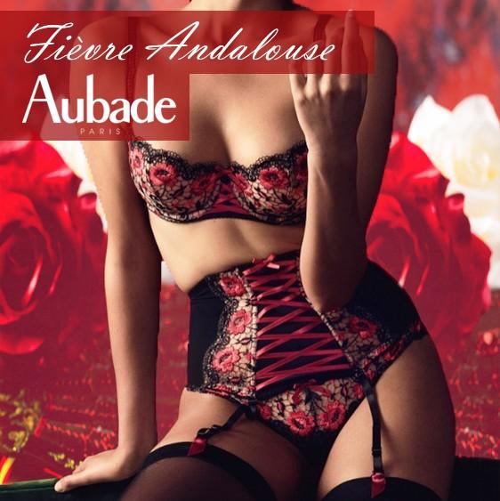 Aubade lingerie New collection Fièvre Andalouse 2020