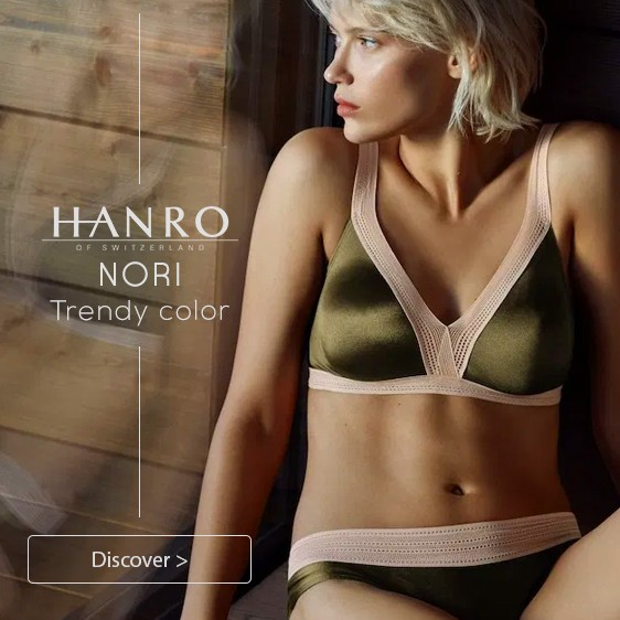 Hanro Nori Nouvelle Collection 2019
