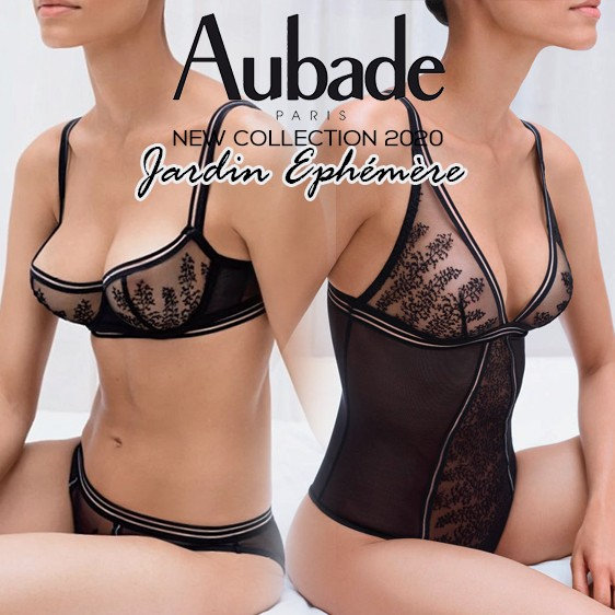 Aubade lingerie new collection 2020 - Jardin Ephemère